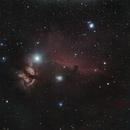 Horsehead & Flame nebula,                                Tony Blakesley