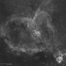 Heart Nebula (IC 1805) Ha,                                Andres Noriega