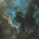 NGC7000 first narrowband - Esprit 80,                                Tristan Campbell
