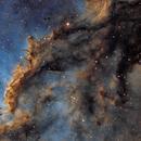 NGC6188 / la main de dieu,                                Quentin Gineys