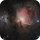 Running Man & Orion Nebulae,                                KiwiAstro