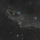 The Shark Nebula LDN 1235 (4 panels mosaic),                                Ysty