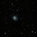 M101-10 hours integration,                                Dick Bakker