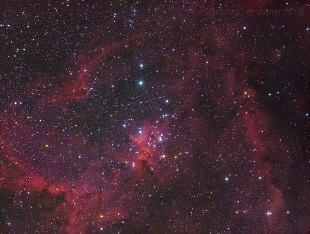 ♥ Heart Nebula and Melotte 15! :) (Coldmos+DSLR),                                Gianni Cerrato