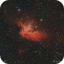 The Wizard Nebula - First Light ASI183MC Pro and L-eNhance Filter,                                Damien Cannane