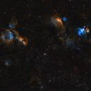 Interesting areas around the Large Magallenic Cloud,                                Steve de Lisle