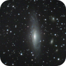 ngc 7331 - combination of an image of 2020 for luminance and an image of 2009 for color,                                Stefano Ciapetti