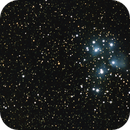 M45 Pleiades from the backyard,                                  PghAstroDude