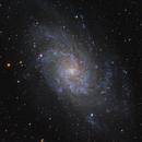 M33  Triangulum Galaxy,                                Doug Summers