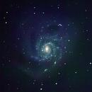 M101 Pinwheel Galaxy,                                Gus Tepper