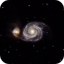 M 51 - Whirlpool Galaxy,                                André Wiget
