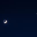 Mond, Venus und Neptun,                                Gottfried Meissner