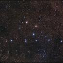 Collider 399 asterismo de la percha,                                Julio