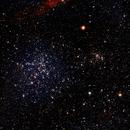 Best Friends, NGC1907 & 1912,                                John Favalessa