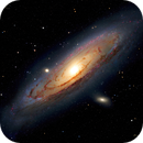 Andromeda  Galaxy M31,                                astrography_MC