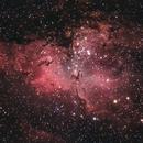 M16 - The Eagle Nebula - My second attempt..,                                Patrick Cosgrove