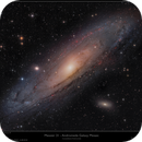 Messier 31 - The Andromeda Nebula Mosaic in 8K resolution,                                Frank Schmitz