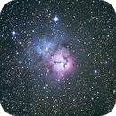 M20 - Nébuleuse Trifide,                                Astroluc63