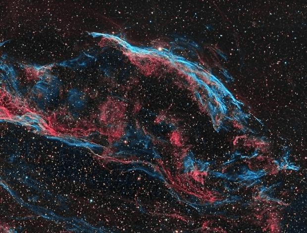 Final NGC6960 SHO,                                Astrovetteman