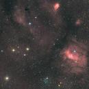 NGC 7635,                                Brice