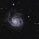 Messier 101 Pinwheel Galaxy,                                Frank Iwaszkiewicz