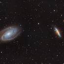 M 81 et M82, Galaxie de Bode et galaxie du cigare,                                Cirodde Jonathan