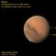 Mars, Olympus Mons and Arsia Mons,                                Carlos Alberto Pa...