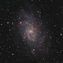 M33 - Triangulum Galaxy HaRGB,                                Victor Van Puyenbroeck