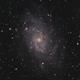 M33 - Triangulum Galaxy HaRGB,                                Victor Van Puyenb...