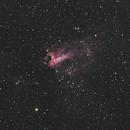 M17 Swan Nebula,                                petelaa