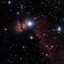 Flame and Horsehead Nebulas,                                Robert Engberg