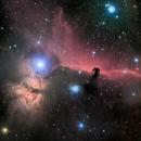 Horsehead and Flame nebulae - LRGB,                                Rodolphe Goldsztejn