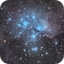 The Pleiades (M45),                                Luca Marinelli
