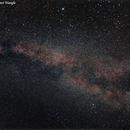 Milky Way in the Summer Triangle,                                Fernando De Ronzo
