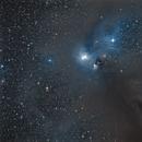 NGC 6726, 6727, 6729, IC 4812 in Corona Australis,                                Martin Junius