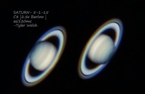 Saturn 5-1-15,                                Tyler Jackson Welch