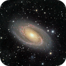 Another year, another M81 image,                                Frank Kane