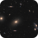 A part of the Markarian Chain - The Eyes Galaxy NGC4438/4435 , M86, M84 and friends,                                Arnaud Peel