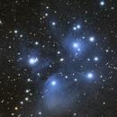 Pleiades - M45 14.09.2020,                                SwissCheese