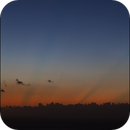 Planets conjunction on May 24th 2013,                                TC_Fenua