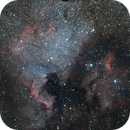 North America & Pelican Nebula / 2 panel Mosaic,                                Gregor Vojščak