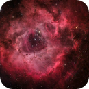 The Flaming Rose - HaRGB - NGC 2237 (Rosette Nebula),                                Min Xie