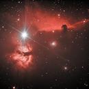 Horsehead nebula,                                Harry85