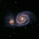 M51 Whirlpool Galaxy,                                Scott Alber