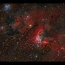 Cave Nebula Sh2-155 HaRGB,                                Göran Nilsson