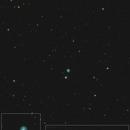 Eskimo nebula (NGC2392) spectrum,                                apricot