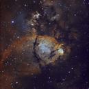 IC1795 Fish Head Nebula,                                JM