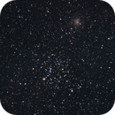 M35 - Shoe-Buckle Cluster - with NGC 2158,                                Dale Hollenbaugh