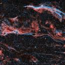 NGC6960 et le triangle de Pickering en HOO,                                Georges