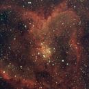 IC1805 heart nebula,                                Kjell